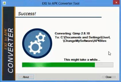 convert exe to apk convert exe file to apk file windows exe to android apk
