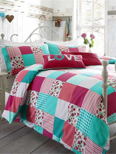 Patchwork Duvet Cover Set - duvet cover sets duvet cover co uk