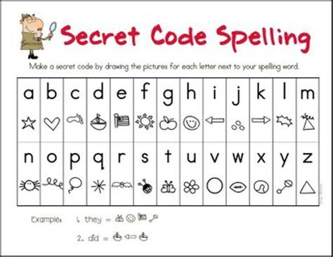 secret activity unique spelling activities for playtivities