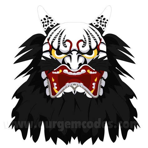 samurai oni mask