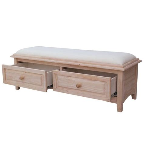 52 Inch Bedside Benches Simply Woods Furniture Opelika Al