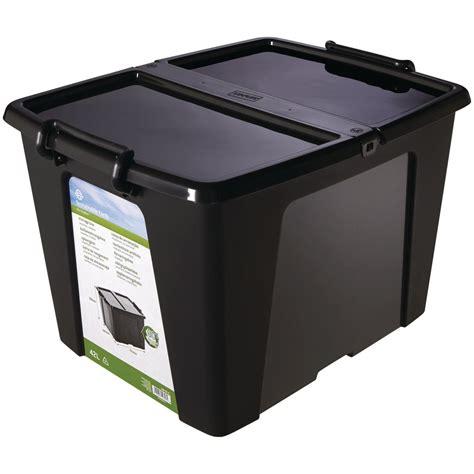 Buket Box Kado Bunga Box sustainable earth by staples plastic storage box portable black 40 l staples 174