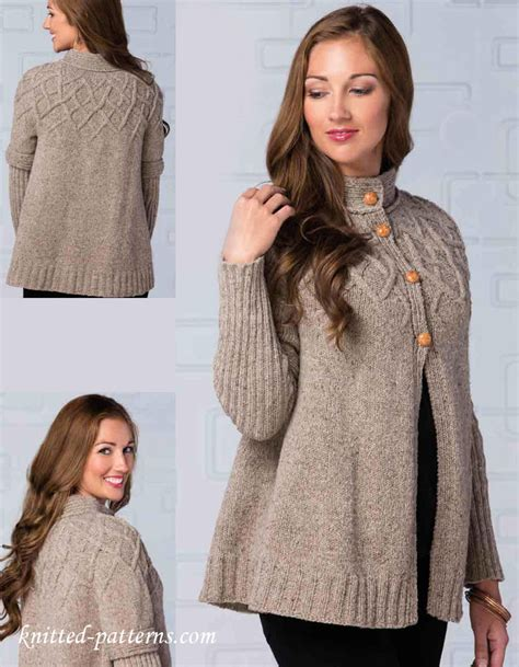 free womens knitting patterns cardigans top cardigan knitting pattern free