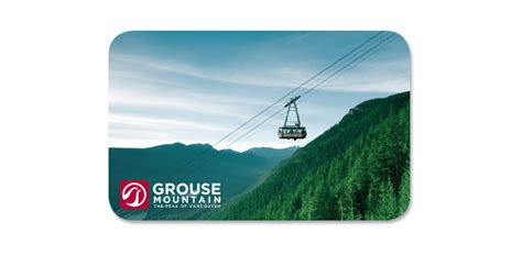 Spirit Mountain Gift Cards - gift cards grouse mountain the peak of vancouver