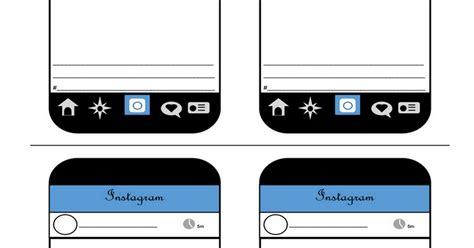 Instagram Template Google Docs Instagram Template Docs