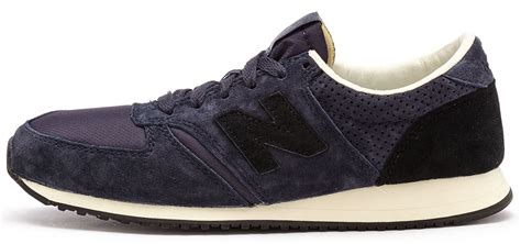New Balance Classic Black Blue new balance 420 classic trainers in blue black u420 nk ebay