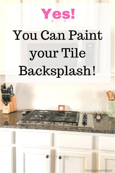 painting kitchen backsplash 2018 painting tile backsplash one year later