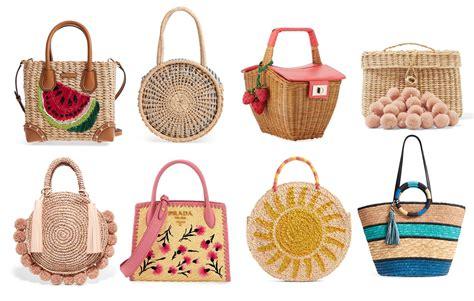 summer 2018 handbag trends straw bags bay area fashionista