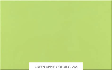 apple green color finishes contempo wall