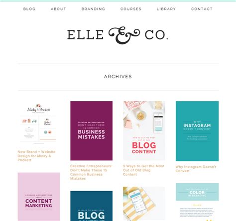 blog layout on squarespace how to set up blog archives in squarespace