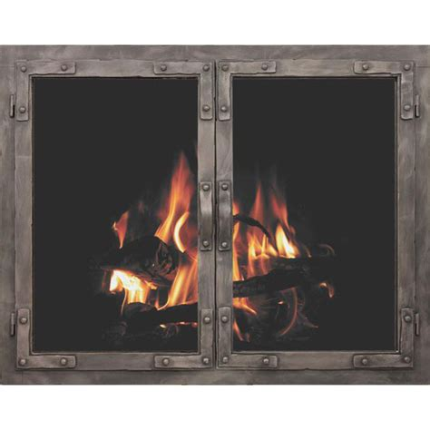 Fireplace Glass Panels by Fireplace Doors By Stoll
