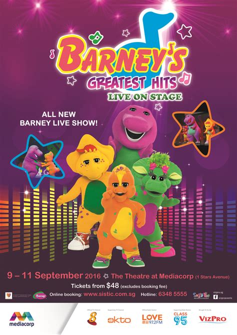 Barney Top Barney S Greatest Hits Giveaway Ed Unloaded