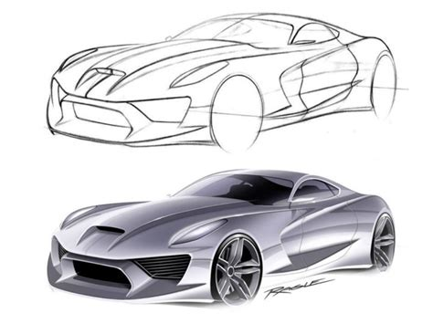 tutorial design car under lit car rendering technique car body design
