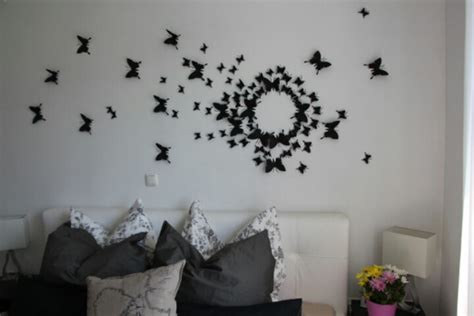 bedroom walls diy butterfly wall decor art ideas for and diy gossip girl butterfly wall art dorm room