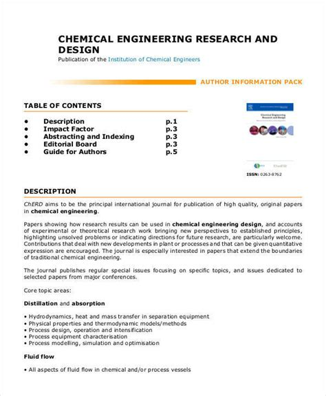 research papers in chemical engineering chemical engineering research paper 28 images ifs