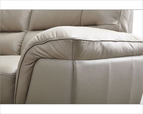sofa color modern leather sofa in beige color esf8052s