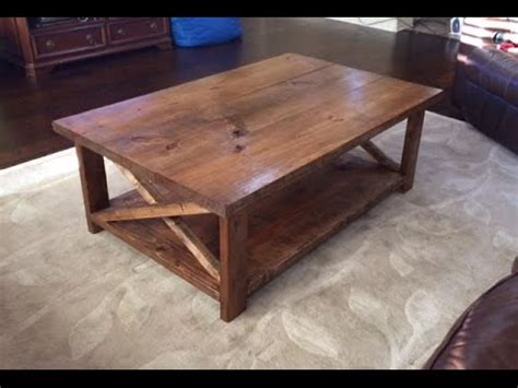 rustic coffee table   bottom shelf ana