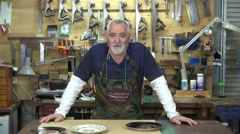 woodworking masterclass steve hay how to make a plate rack pt 1