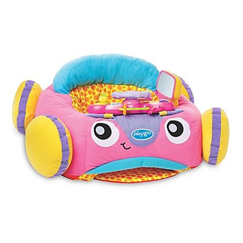 playgro and lights comfy car playgro and lights comfy car in pink buybuy baby