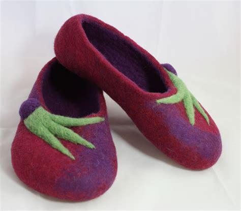 felting slippers felted slippers kit felting slippers tutorial and kit