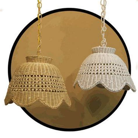 Wicker Swag L by Top 272 Ideas About L 225 Mparas Mimbre Wicker Ls On