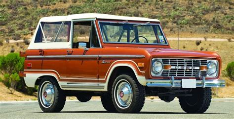 1960s ford bronco bucking bronco 1966 77 ford bronco with its 19