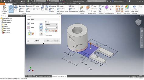 learn autodesk inventor 2018 basics 3d modeling 2d graphics and assembly design books extrude enhancements autodesk inventor 2018 new features
