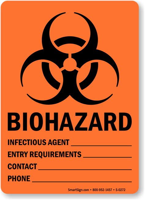 news sign up contacts the agency biological hazard stickers