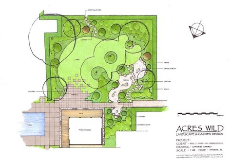 acres wild masterplan 158 best garden design plans projekty ogrod 243 w images on landscape plans landscape