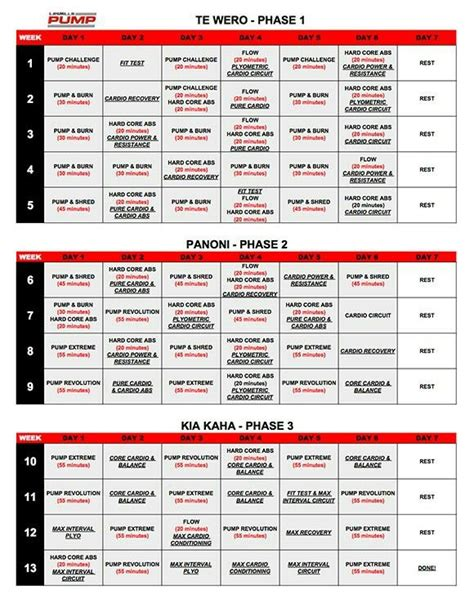 printable ufc schedule 25 best ideas about les mills pump on pinterest les