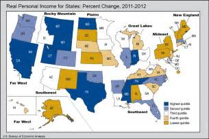 bea news release real personal income for states and