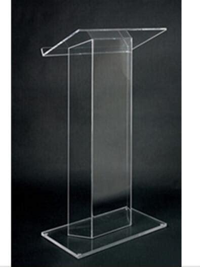 Mimbar Acrylic buy grosir kustom podium from china kustom podium