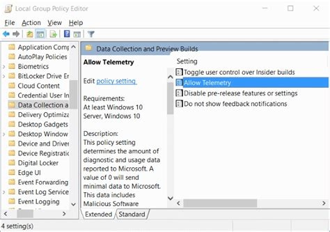remove quot some settings are managed by your organization