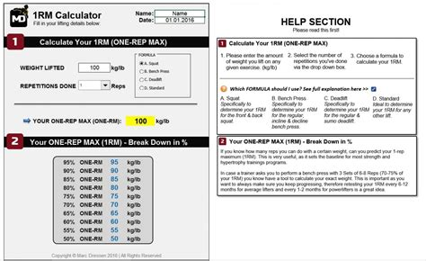 1 rep max bench press calculator calculate my max bench press calissto com