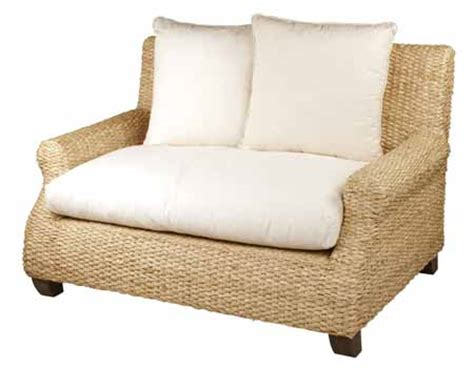 seagrass loveseat cs002 marcelena loveseat water hyacinth