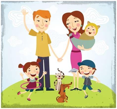 imagenes reflexivas de familia familia feliz caricatura www pixshark com images