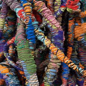 Country Style Dining Rooms Artist Sheila Hicks At The Hayward Gallery Elle