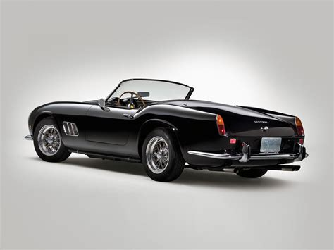 ferrari california 1961 mad 4 wheels 1960 ferrari 250 gt swb california spyder