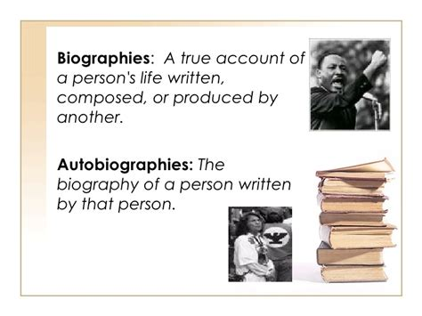 biography meaning in literature literary genres 1