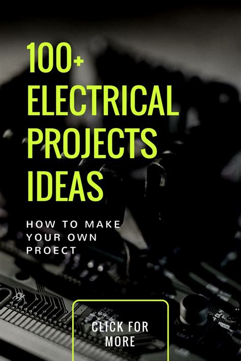 the 25 best electrical projects ideas on