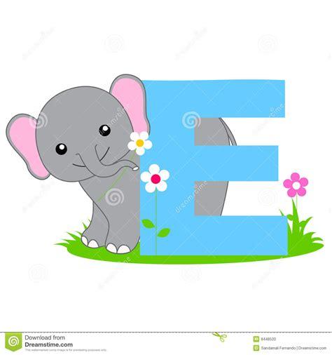 imagenes en ingles con e letra animal do alfabeto e fotos de stock imagem 8448533