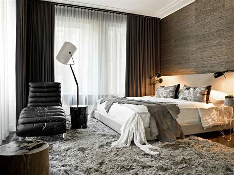 bedroom outstanding interior with grey furry rug in baby masculine bedroom home design ideas
