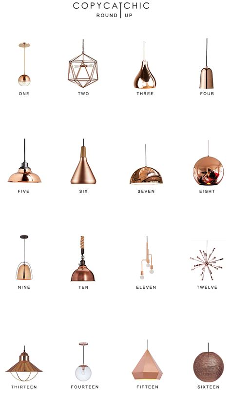 Copper Pendant Lighting Round Up   Copy Cat Chic