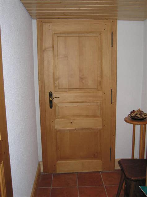 Porte En Bois Intérieur 1540 by Cuisine Portes Int 195 169 Rieures En Bois Massif Menuiserie
