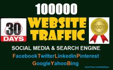 buy website traffic targeted quality traffic   fiverr