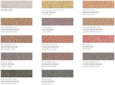 brick mortar color chart the fantastic assortment of brick and block designs