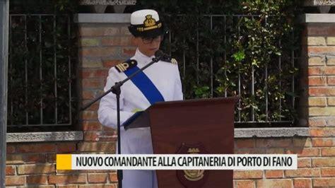 capitaneria di porto fano nuovo comandante alla capitaneria di porto di fano
