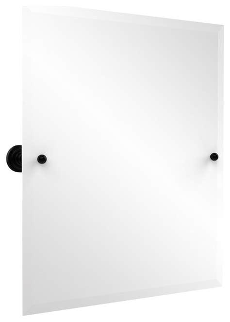 tilt mirrors for bathroom rectangular tilt bathroom 21 quot x26 quot rectangular tilt mirror matte black
