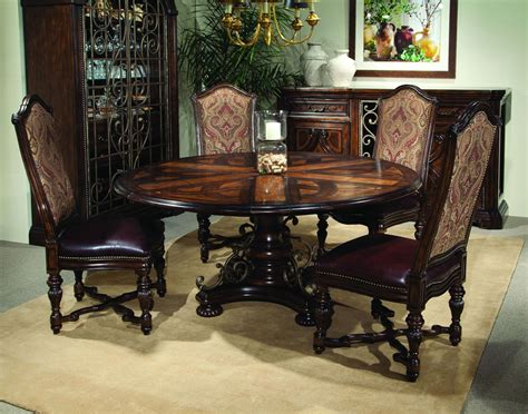 M S Dining Room Furniture Mesmerizing Wooden Furnitures Dining Room Applying Formal Sets With Pedestal Table