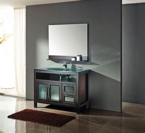 Modern Bathrooms Vanities Modern Bathroom Vanity D S Furniture